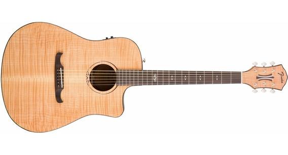 Fender T-bucket 400 Ce Guitarra Electro Acustica Maple Top