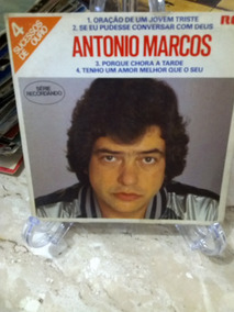 Compacto Antonio Marcos 4 Sucessos De Ouro 1982