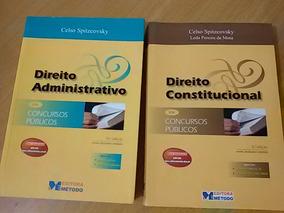 Livros Direito Para Concurso Público Faculdade Universidade.