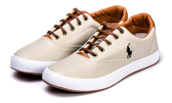Sapatenis Polo Way Masculino Tenis Original Lançamento 50%