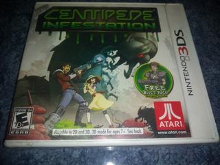 Nintendo 3ds Video Juego Centipede Infestation Nuevo Sellado