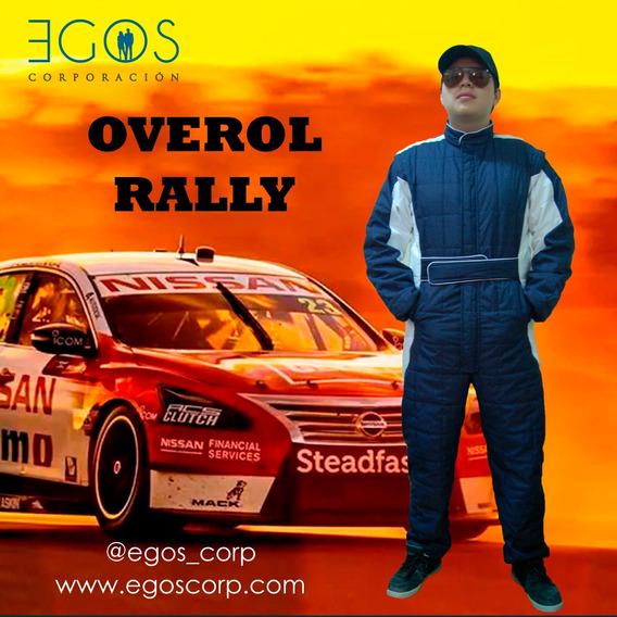 Overol Rally, Overol Piloto, Overol Clasico, Ropa De Trabajo