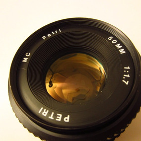 Objetiva 50mm Petri Mult Coated