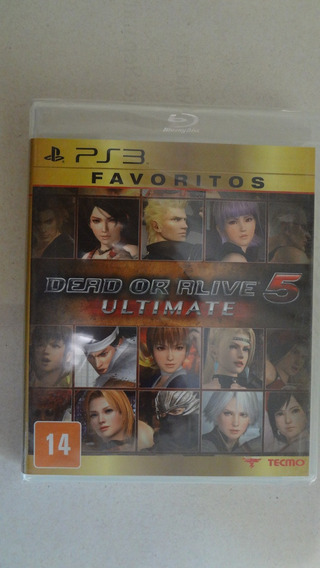 Dead Or Alive Ultimate - Novo E Lacrado