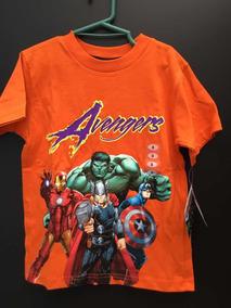 Playera Avengers Talla 8