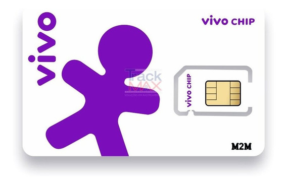 Chip M2m Vivo Sms Rastreadores