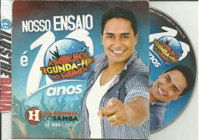 Cd Harmonia Do Samba 10 Anos Ensaio Ao Vivo 2012 Ed. Promo