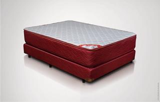 Colchón Y Sommier Gani Red Spring Pillow Top De 140 X 190