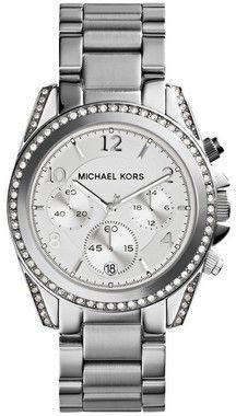 Relógio Michael Kors Mk5165 Prata Blair Glitz
