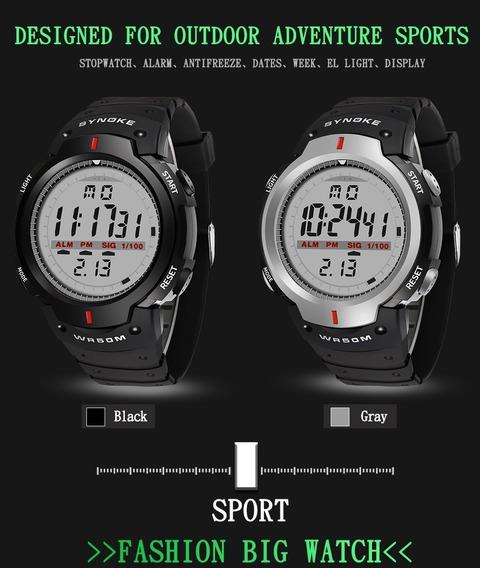 Relógio Masculino Original Synoke 61576 5atm A Prova D
