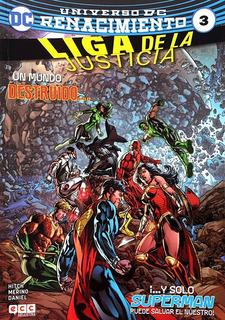 Liga De La Justicia 3 Universo Dc Renacimiento Bryan Hitch