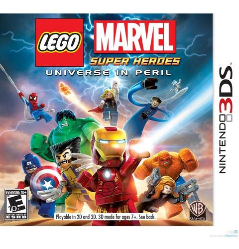 Lego Marvel Universe In Peril Juego Nintendo 3ds Fisico