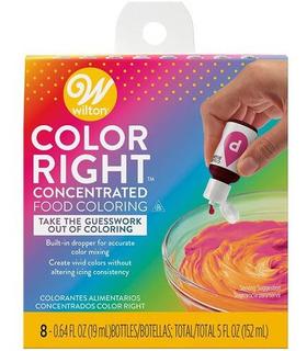 Set X 8 Colorantes Wilton Color System 601-6200