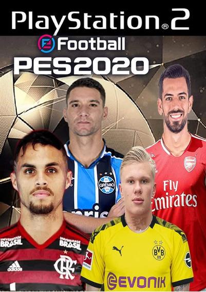 Patch Pes 2020 Hd Brasileirão, Jogos Ps2,atual Lançamento