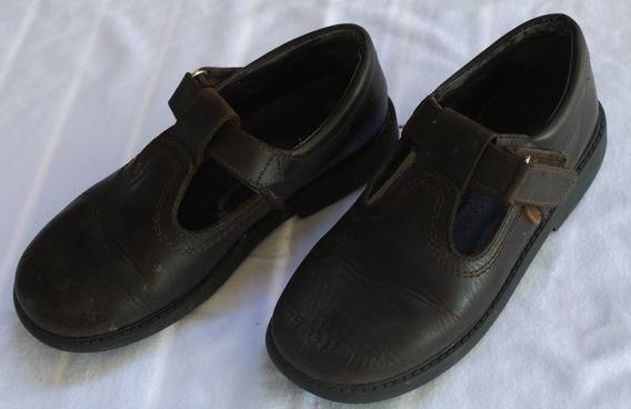 Zapatos Marcel Marrones Talle 33