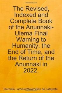 El Retorno De Los Anunnaki En 2022