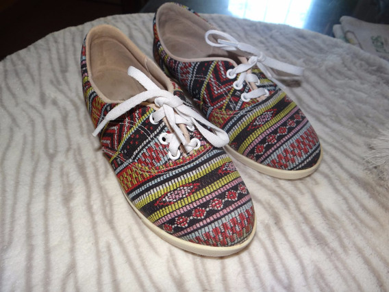 Zapatillitas Diseño Azteca