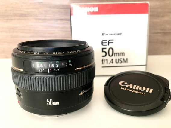Lente Canon 50mm F/1.4 Usm Dslr