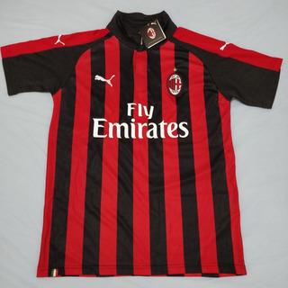 Camisa Milan Temporada 2018/19 Leia A Descrição