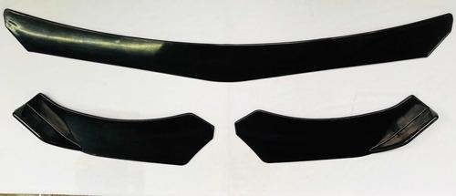 Imagen 1 de 10 de Lip Delantero Universal Plástico Spoil Er 3 Piezas