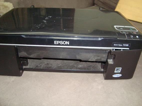 Impressora Multifuncional Epson Stylus Tx135 (não Funciona)