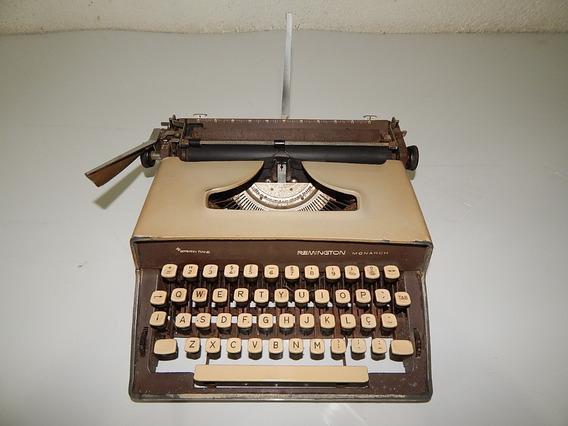 Maquina Escrever Remington Monarch