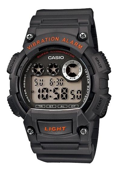 Relógio Masculino Casio Standard Digital W-735h-8avdf Chumbo