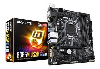 Motherboard Gigabyte B365m Ds3h Intel 1151 8va 9na Cuotas