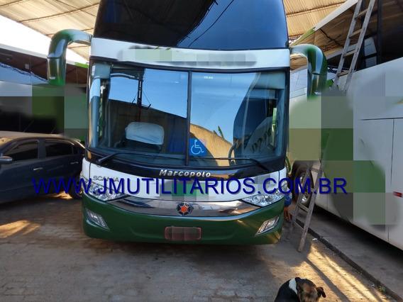 Paradiso Double Deck G7 Ano 2018 Scania K440 Jm Cod 165