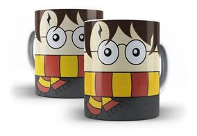 Caneca De Porcelana Harry Potter Desenho - Mega Oferta!!