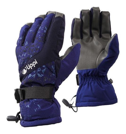 Guantes Unisex Snow Day B-dry Glove Azul Lippi