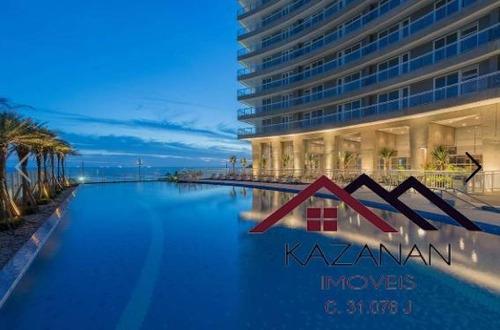 Apartamento - 1 Dormitório - Santos - Unlimited Ocean Front - 1719