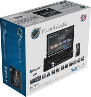 Autoestereo Planet Audio P9759 Retractil Usb Aux Bt 7 Pulg