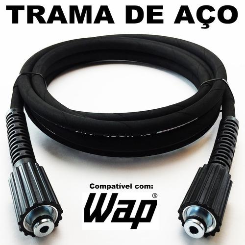 Imagem 1 de 7 de 05 Metros De Mangueira P/ Lavadora Wap Premium Trama De Aço