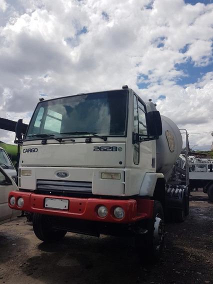 Ford Cargo 2628 6x4 Ano 2010 Betoneira Siti 2013