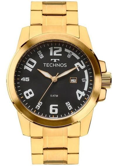 Relógio Technos Dourado 2115mgs/4p C/ Nf-e