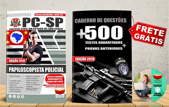 Apostila Pc-sp - Papiloscopista Policial Atualizada 2019