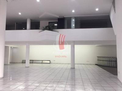 Salão Para Locação No Bairro Vila Regente Feijó - 4003