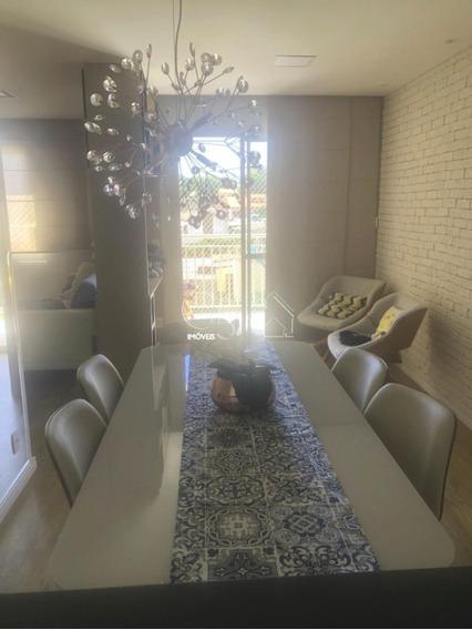 Apartamento Mobiliado Com 2 Dormitórios, Sala Com Varanda, Cozinha Planejada Com Geladeira, Cooktop, Fogão, Maquina De Lavar E Secar,1 Vaga - Ap00518 - 68171327
