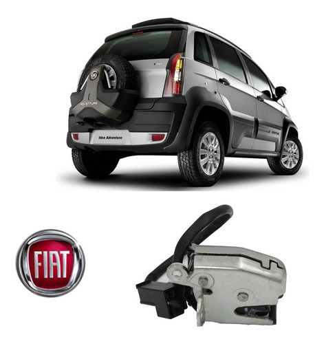 Fechadura Estepe Fiat Idea Adventure 2009 51769593