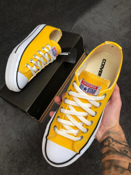 Converse All Star Amarelo