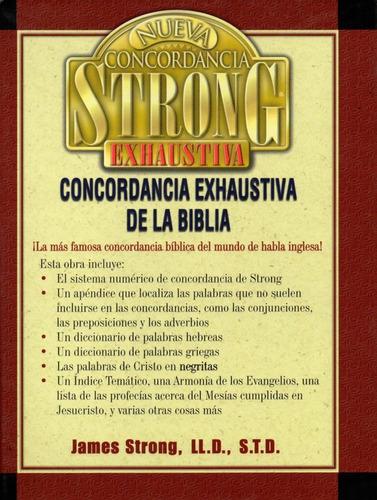 Concordancia Strong Nueva Exaustiba E Indispensable