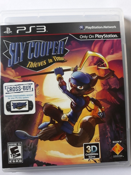 Sly Cooper Thieves In Time - Ps3 Mídia Fisica