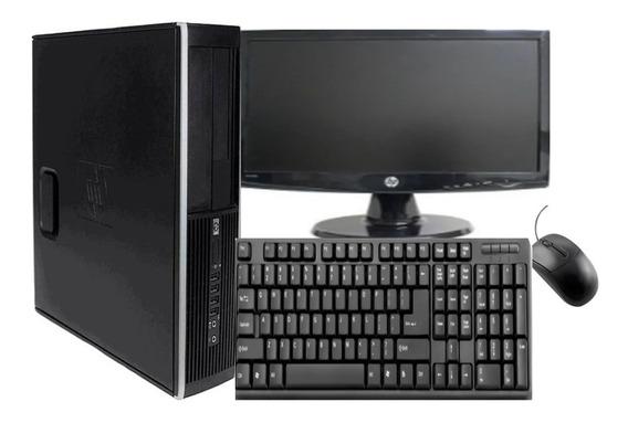 Computador Completo Hp I3 4gb 500gb Wifi + Monitor