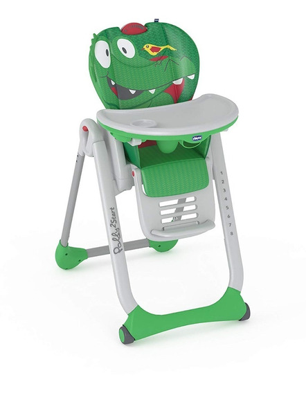 Silla De Comer Bebe Chicco Polly 2 Start Reclinable-plegable