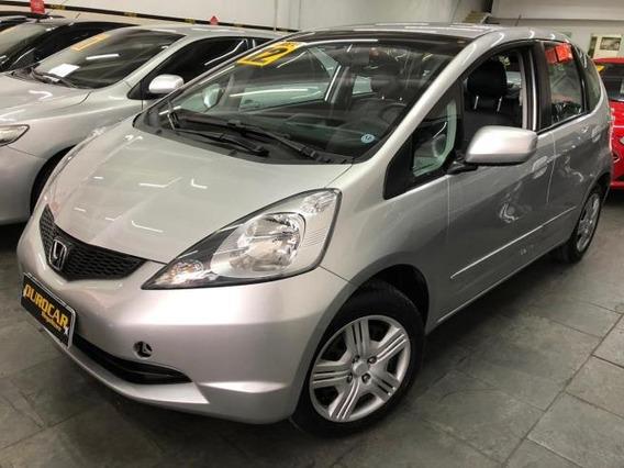 Honda Fit Dx 1.4 Flex 2012 - Banco Em Couro