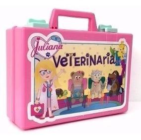 Juliana Valija Veterinaria Grande Con Dos Peluches