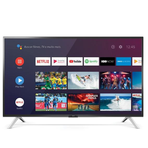 Smart Tv Led 32 Android Semp 32s5300 Hd Com Comando De Voz