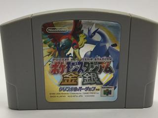 Pokemon Stadium Gold & Silver Nintendo 64 Japones