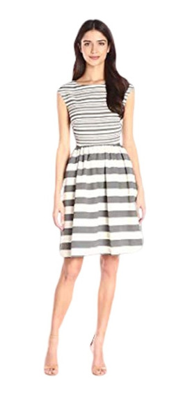 Vestido Donna Morgan Talla 4 Usa, Nvo C/etiq,hermosa Espalda